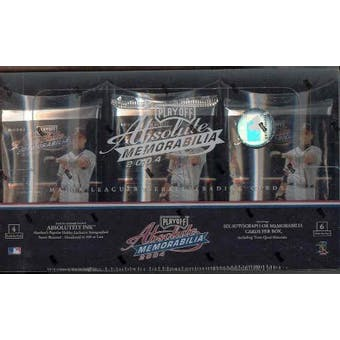 2004 Playoff Absolute Memorabilia Baseball Hobby Box