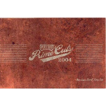 2004 Playoff Prime Cuts Series 1 Baseball Hobby Box