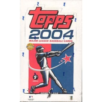 2004 Topps Series 1 First Edition Baseball Hobby Box