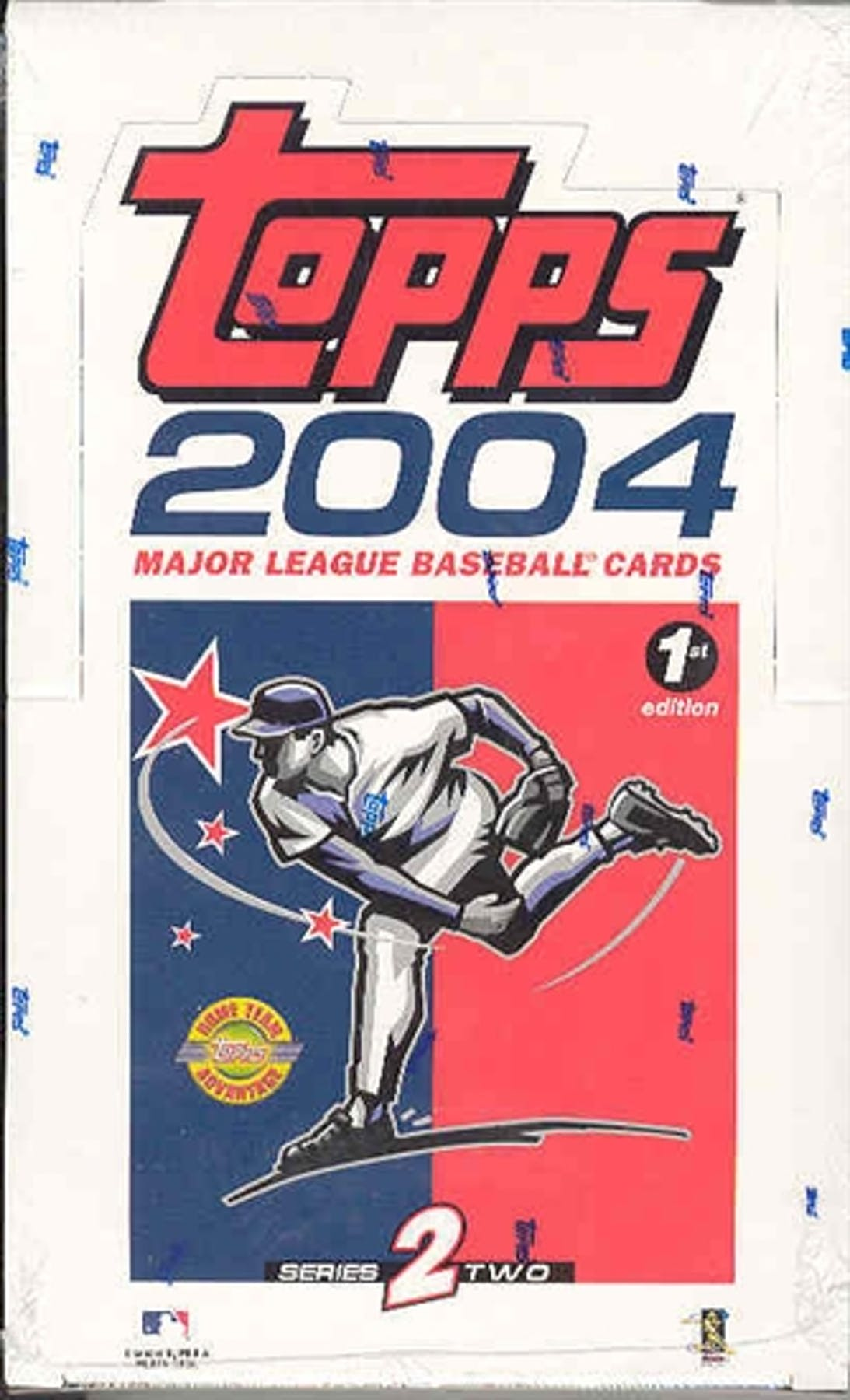 2004 Topps Series 2 First Edition Baseball Hobby Box