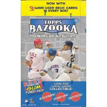 2004 Topps Bazooka Baseball Hobby Box