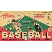 2004 Topps Heritage Baseball Hobby Box