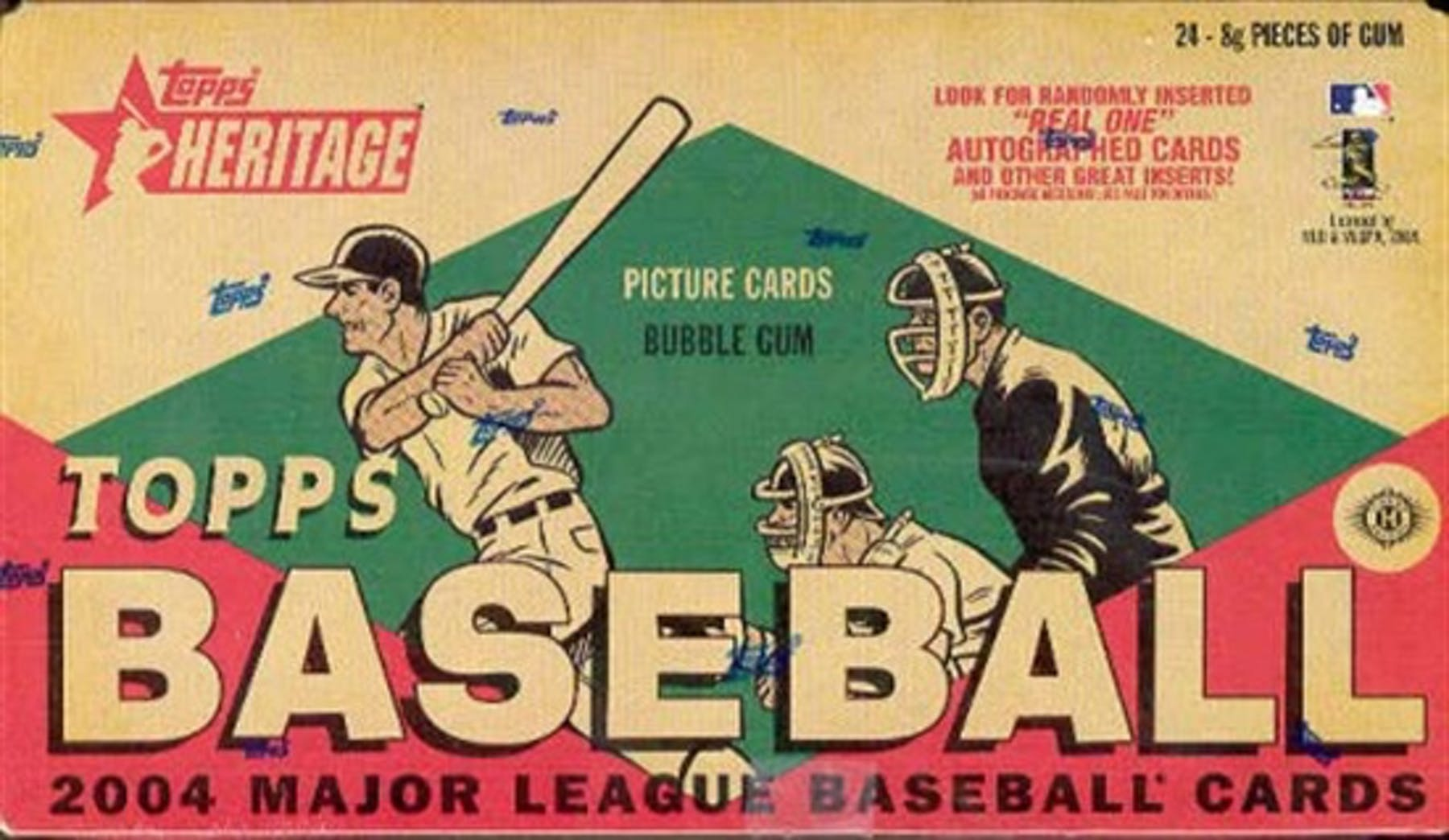 2004 Topps Heritage Baseball Hobby Box Da Card World
