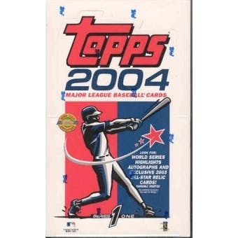 2004 Topps Series 1 Baseball Jumbo Box