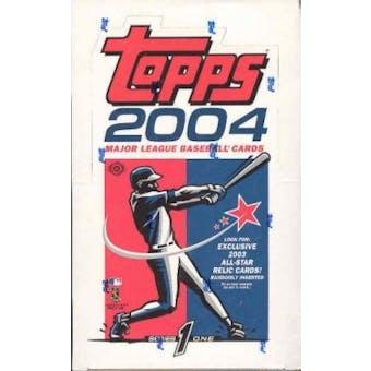 2004 Topps Series 1 Baseball Hobby Box