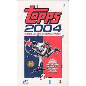 2004 Topps Series 2 Baseball Jumbo Box