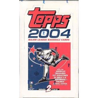 2004 Topps Series 2 Baseball Hobby Box