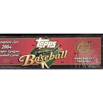 2004 Topps Baseball Hobby Factory Set (Box) (Brown)