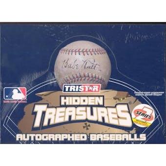 2004 Tristar Hidden Treasures Autographed Baseballs Series 2 Hobby Box