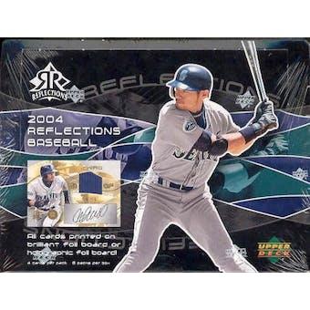 2004 Upper Deck Reflections Baseball Hobby Box
