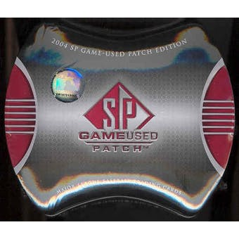 2004 Upper Deck SP Game Used Patch Baseball Hobby Box (Tin)