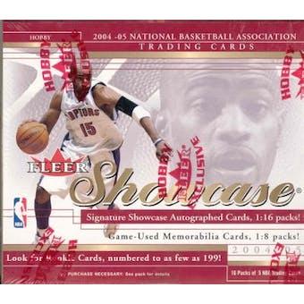 2004/05 Fleer Showcase Basketball Hobby Box