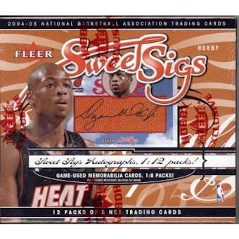 2004/05 Fleer Sweet Sigs Basketball Hobby Box