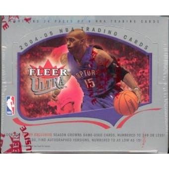 2004/05 Fleer Ultra Basketball Hobby Box