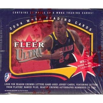 2004 Fleer Ultra WNBA Basketball Hobby Box