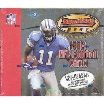 2004 Bowman's Best Football Hobby Box