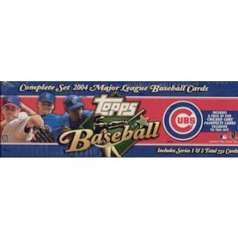 2004 Topps Factory Set Baseball (Box) (Chicago Cubs) - Very Rare!