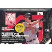 2005 Donruss Elite Baseball Hobby Box