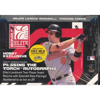 2005 Donruss Elite Baseball Hobby Box