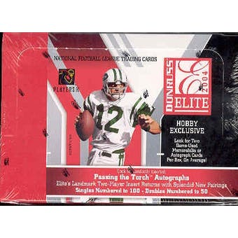 2004 Donruss Elite Football Hobby Box