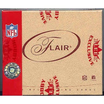 2004 Fleer Flair Football Hobby Box