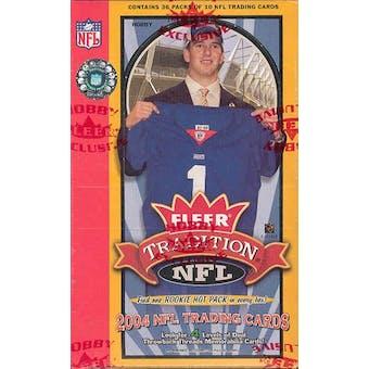 2004 Fleer Tradition Football Hobby Box