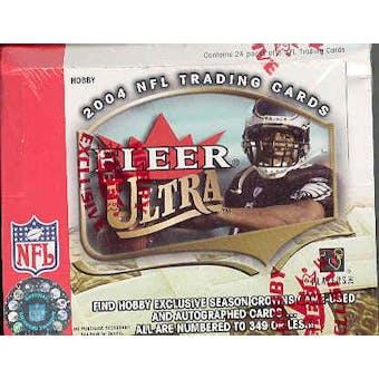 2004 Fleer Ultra Football Hobby Box
