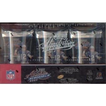 2004 Playoff Absolute Memorabilia Football Hobby Box