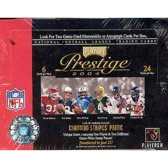 2004 Playoff Prestige Football Hobby Box