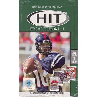 2004 Sage Hit Football Hobby Box