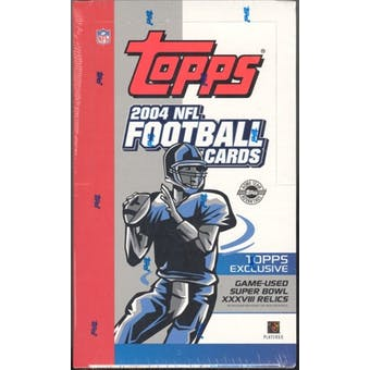 2004 Topps Football Jumbo Box