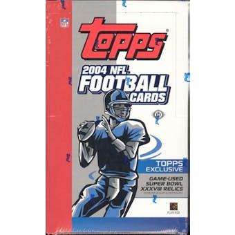 2004 Topps Football Hobby Box