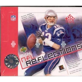 2004 Upper Deck Reflections Football Hobby Box