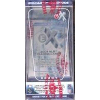 2004 Fleer E-X Baseball Hobby Box