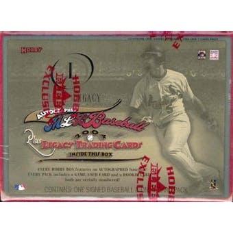 2004 Fleer Legacy Baseball Hobby Box