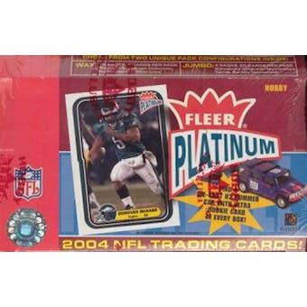 2004 Fleer Platinum Football Hobby Box