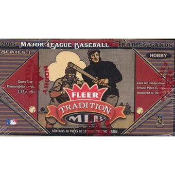 2005 Fleer Tradition Baseball Hobby Box