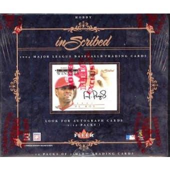 2004 Fleer Inscribed Baseball Hobby Box