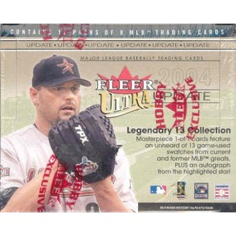 2004 Fleer Ultra Update Baseball Hobby Box