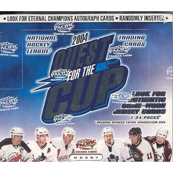 2003/04 Pacific Quest for the Cup Hockey Hobby Box