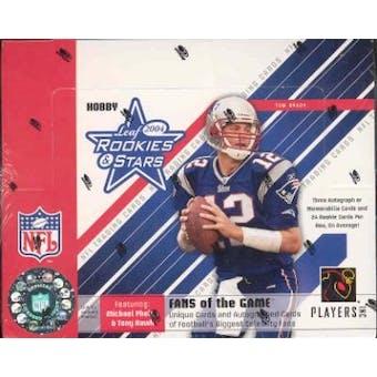 2004 Leaf Rookies & Stars Football Hobby Box