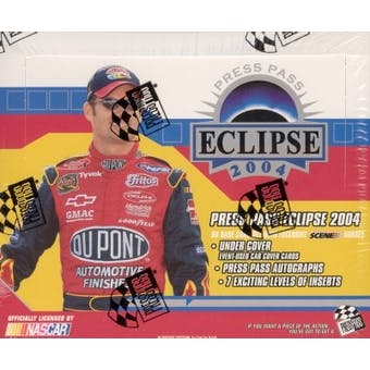 2004 Press Pass Eclipse Racing Hobby Box