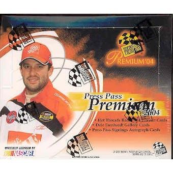 2004 Press Pass Premium Racing Hobby Box