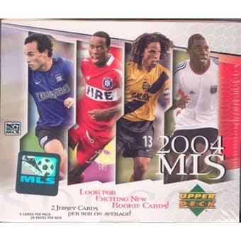2004 Upper Deck MLS Major League Soccer Hobby Box