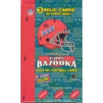 2004 Topps Bazooka Football Hobby Box