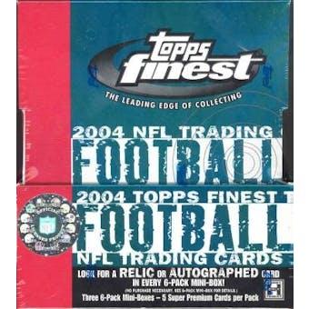 2004 Topps Finest Football Hobby Box