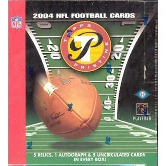 2004 Topps Pristine Football Hobby Box