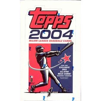 2004 Topps Series 1 36 Pack Baseball Box