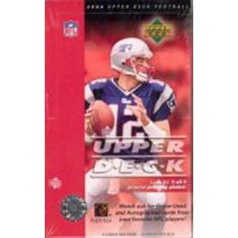 2004 Upper Deck Football Hobby Box