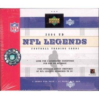 2004 Upper Deck Legends Football Hobby Box